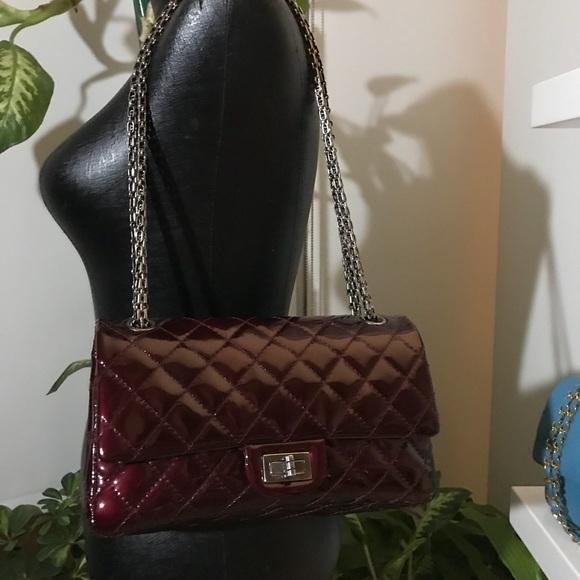 c7e84da9dccdfd CHANEL Bags | Sold Patent Reissue Double Flap 255 | Poshmark